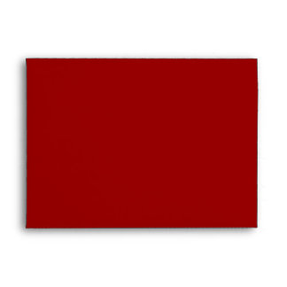CLASSIC MERRY CHRISTMAS RED A7 ENVELOPE