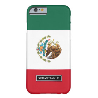Classic Mexican Flag Barely There iPhone 6 Case