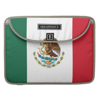 Classic Mexican Flag MacBook Pro Sleeve