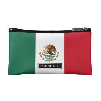 Classic Mexican Flag Makeup Bag