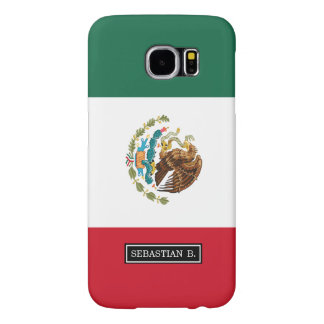 Classic Mexican Flag Samsung Galaxy S6 Case