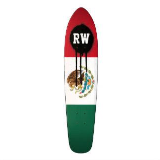 Classic Mexican Flag Skateboard Deck