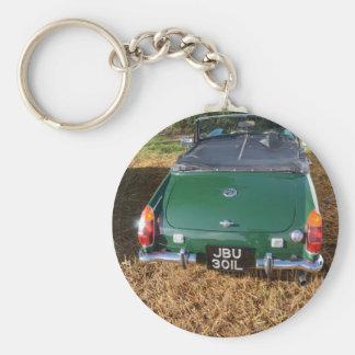 Classic MG Midget Key Chains