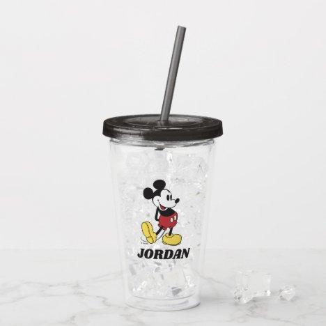 Classic Mickey | Add Your Name Acrylic Tumbler
