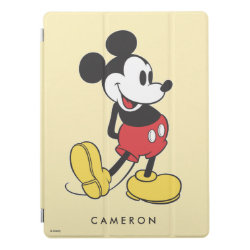 Apple 12.9' iPad Pro Cover with Classic Mickey Mouse design