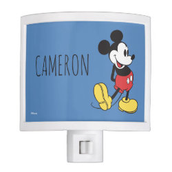 Night Light with Classic Mickey Mouse design