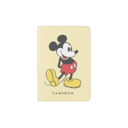 Passport Holder with Classic Mickey Mouse design