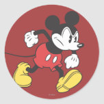 Classic Mickey | Angry Classic Round Sticker