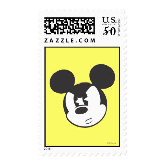 Classic Mickey | Angry Head Postage