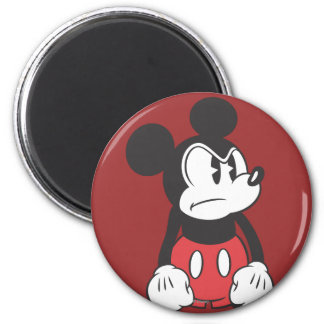 Classic Mickey | Angry Pose 2 Inch Round Magnet