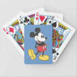 "Classic Mickey Bicycle Playing Cards<br><div class=""desc"">Classic Mickey Mouse pose</div>"