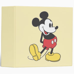 Avery Signature 1' Binder with Classic Mickey Mouse design
