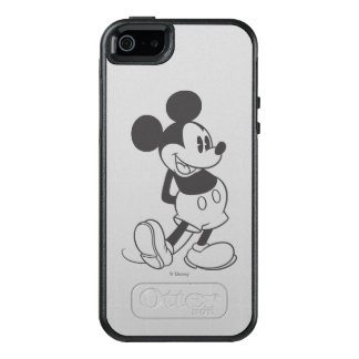 Classic Mickey | Black and White OtterBox iPhone 5/5s/SE Case
