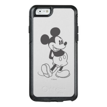 Classic Mickey | Black And White Otterbox Iphone 6/6s Case by disney at Zazzle