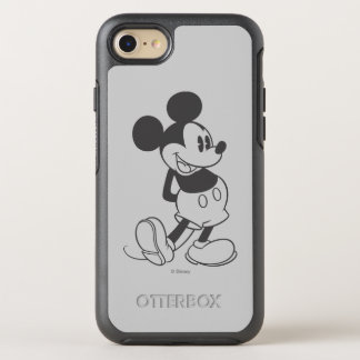 Classic Mickey | Black and White OtterBox Symmetry iPhone 8/7 Case