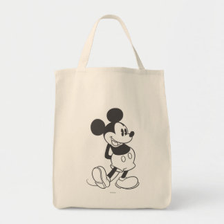 Classic Mickey | Black and White Tote Bag