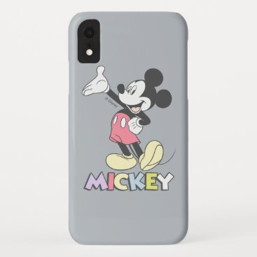 Classic Mickey iPhone XR Case