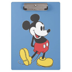 Clipboard with Classic Mickey Mouse design