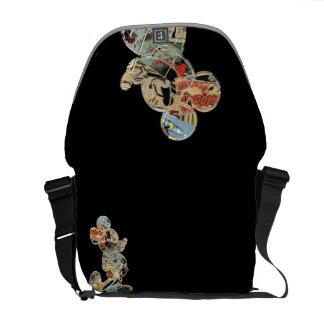 Classic Mickey   Comic Art Messenger Bag