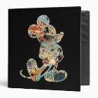 Classic Mickey | Comic Silhouette 3 Ring Binder