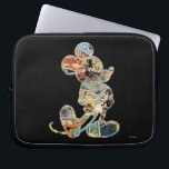 "Classic Mickey | Comic Silhouette Computer Sleeve<br><div class=""desc"">Mickey Mouse</div>"