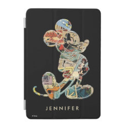 Stylized Marshmallow Silhouette iPad mini Cover