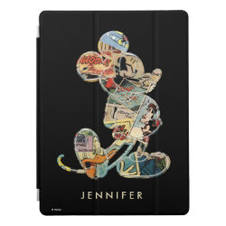 Apple 12.9' iPad Pro Cover with Cute Cartoon Disgust from Inside Out design
