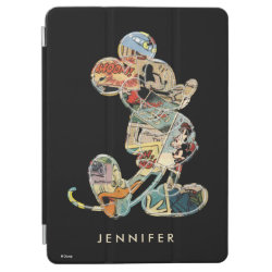 Apple 9.7' iPad Pro Cover with Frozen's Kristoff with Olaf the Snowman and Sven the Reindeer design