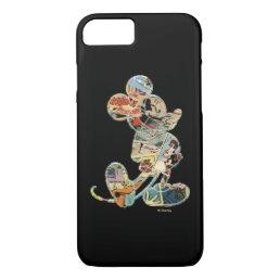 Classic Mickey   Comic Silhouette iPhone 8/7 Case
