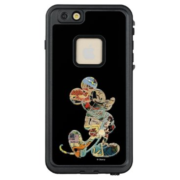 Disney Themed Classic Mickey | Comic Silhouette LifeProof FRĒ iPhone 6/6s Plus Case