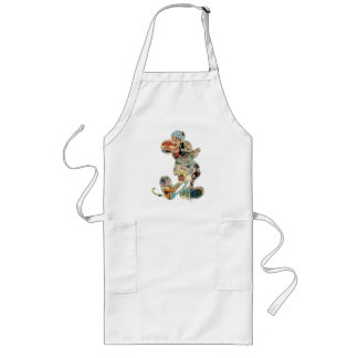 Classic Mickey | Comic Silhouette Long Apron
