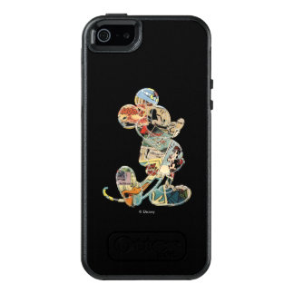 Classic Mickey | Comic Silhouette OtterBox iPhone 5/5s/SE Case