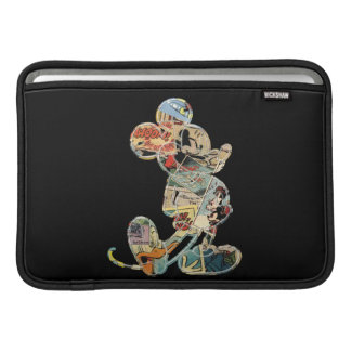 Classic Mickey | Comic Silhouette Sleeve For MacBook Air