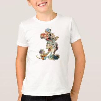 Classic Mickey   Comic Silhouette T-Shirt