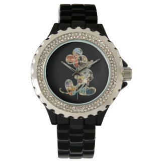 Classic Mickey | Comic Silhouette Wristwatches
