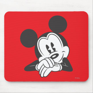 Classic Mickey   Cute Portrait Mouse Pad