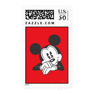 Classic Mickey | Cute Portrait Postage