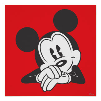 Classic Mickey | Cute Portrait Poster