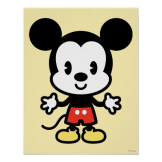 Classic Mickey | Cuties Poster