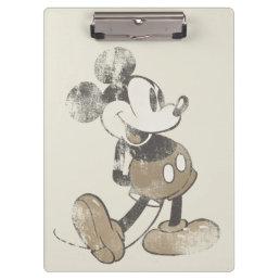 Classic Mickey | Distressed Clipboard