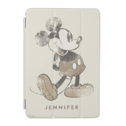 iPad mini Cover with Stylized Marshmallow Silhouette design