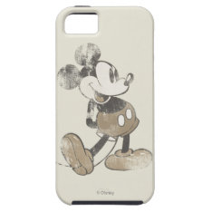 Classic Mickey | Distressed Iphone Se/5/5s Case at Zazzle