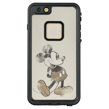 Disney Themed Classic Mickey | Distressed LifeProof FRĒ iPhone 6/6s Plus Case