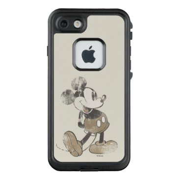 Disney Themed Classic Mickey | Distressed LifeProof FRĒ iPhone 7 Case