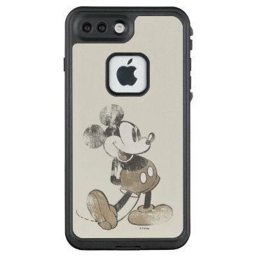 Disney Themed Classic Mickey | Distressed LifeProof FRĒ iPhone 7 Plus Case