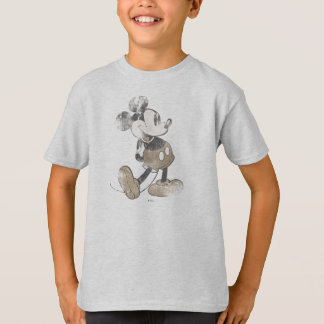 Classic Mickey | Distressed T-Shirt