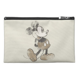 Classic Mickey | Distressed Travel Accessory Bag