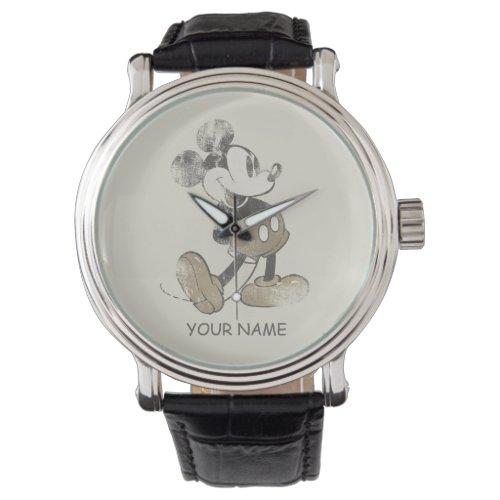 Classic Mickey | Distressed Wrist Watch