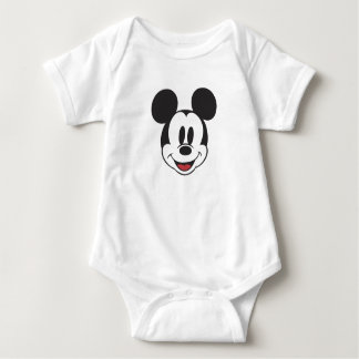 Classic Mickey Face Baby Bodysuit