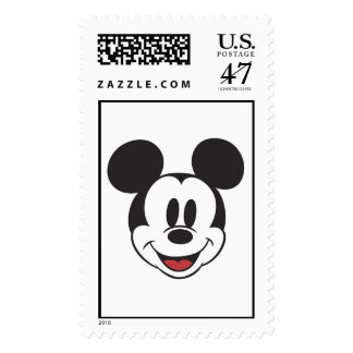 Classic Mickey Face Postage Stamp